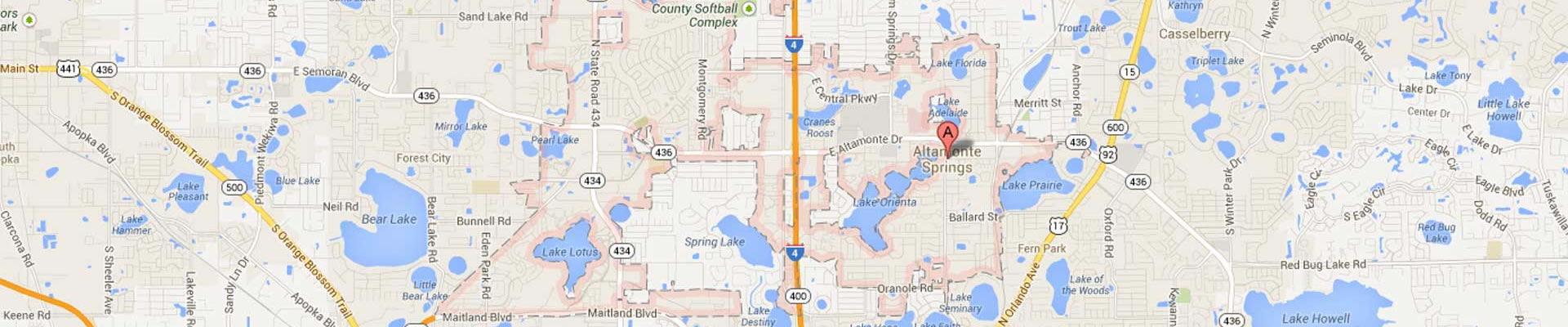 Altamonte Springs Subway Locations