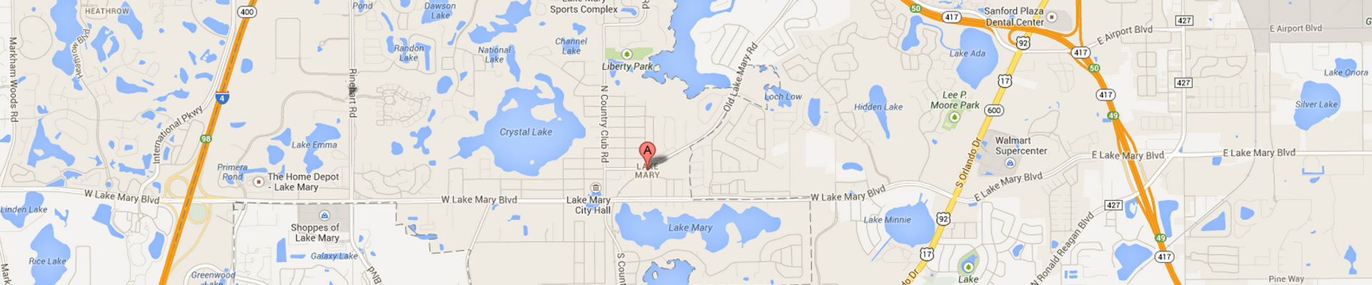 Lake Mary Subway Locations