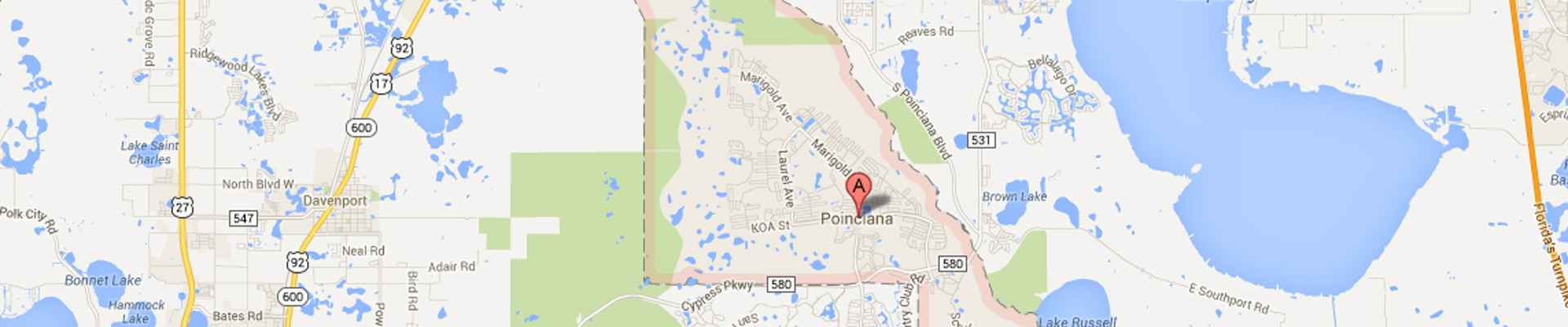 Poinciana Subway Locations